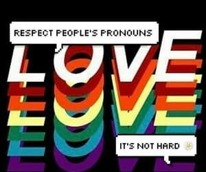 lgbtq, queer, and love is love image