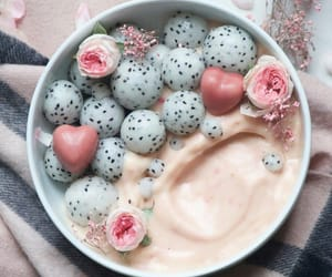 food, healthy, and pink image