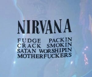 nirvana, background, and wallpaper image