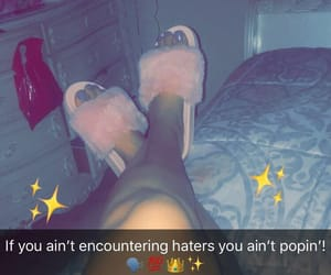 haters, nails, and quotes image