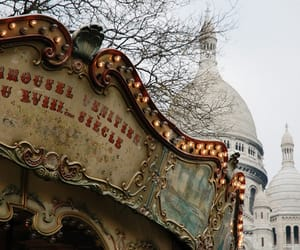 carousel, carrousel, and france image
