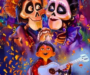 coco, disney, and mexico image