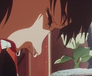anime, crying, and sad girl image