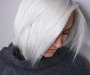 bleach blonde, hairstyle, and blondie image