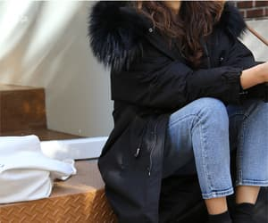 casual, clothing, and parka image