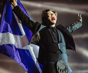 Harry Styles, harry, and glasgow image