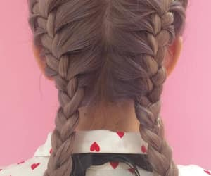 braids, editorial, and fashion image