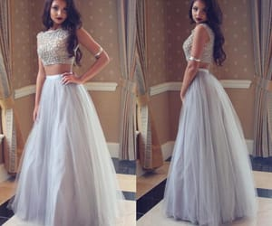prom dress, prom season, and 2 pieces prom dress image