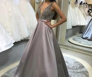 prom dress, prom shopping, and prom gown image
