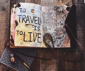 travel and book image