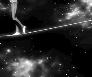 anime, gif, and stars image
