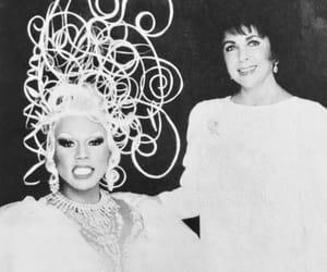 Elizabeth Taylor and RuPaul image
