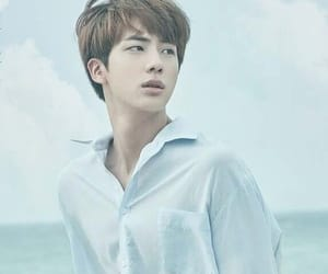jin, bts, and blue image