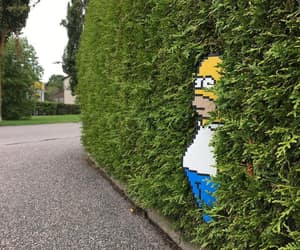 art, funny, and homer image
