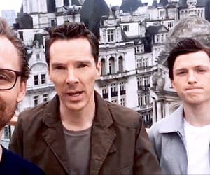 gif, tom hiddleston, and benedict cumberbatch image