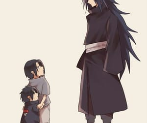 sasuke, itachi, and uchiha image