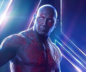 Marvel, drax, and infinity war image