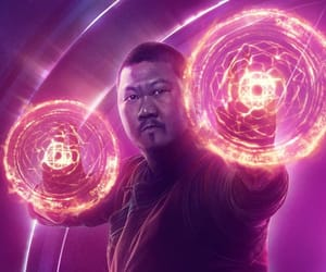 Marvel, wong, and Avengers image