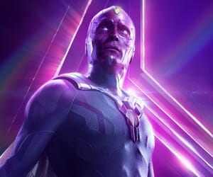 Marvel, vision, and infinity war image