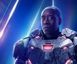 Avengers, Marvel, and war machine image