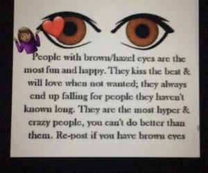 brown, color, and eyes image