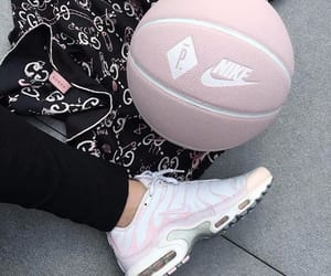 pink, fashion, and nike image