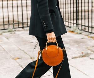 bags, girls, and orange image