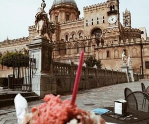 castle, ice cream, and italy image