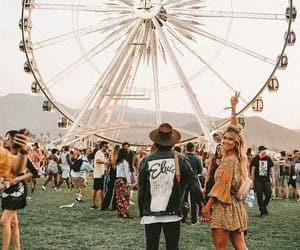 coachella, fashion, and coachella vibes image