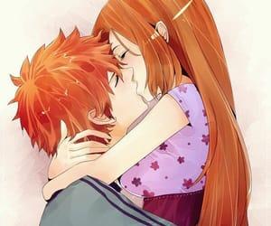 anime, bleach, and kiss image