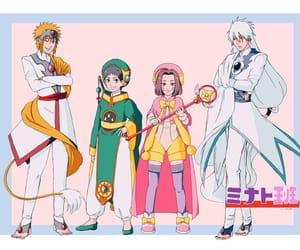 kakashi, obito uchiha, and rin nohara image
