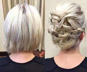hair dye, hairstyles, and short hair image