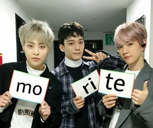 Chen, exo, and reactions image