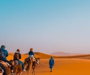 arabia, desert, and sand image