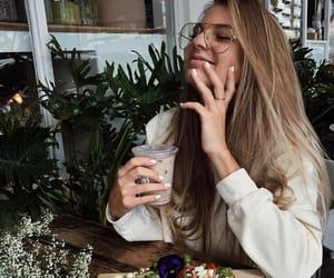 girl, food, and fashion image