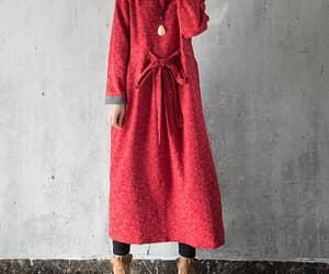 etsy, long dresses, and long robe image