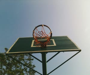 Basketball, playing, and ring image