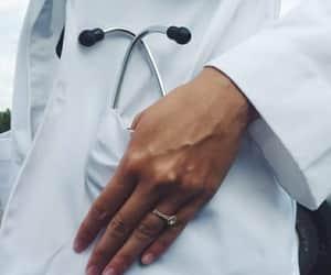 doctor, medical, and medicine image