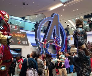 Avengers, captain america, and hong kong image