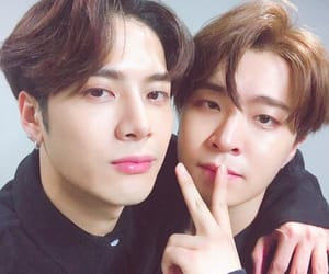 got7, jackson, and youngjae image