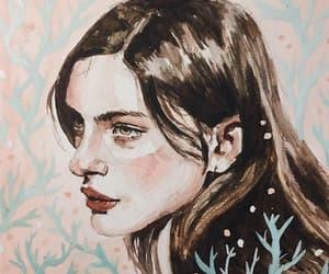 desenho, diana silvers, and pintura image