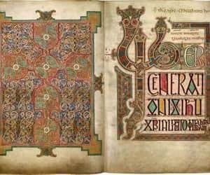 art, manuscript, and gospels image