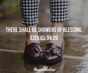 blessed, fashion, and rain image