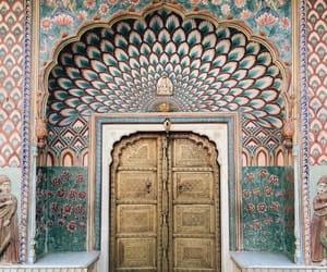 door, holidays, and traveling image