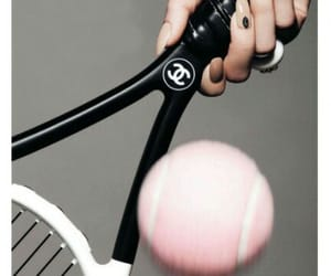 chanel, tennis, and pink image