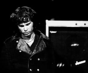 black and white, Jim Morrison, and legend image