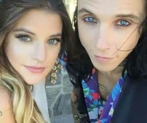 andy, dollskill, and blue eyes image