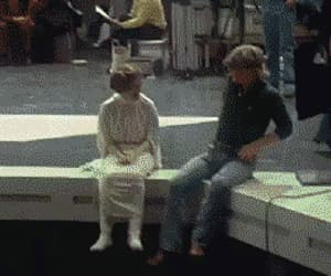 carrie, fisher, and funny image