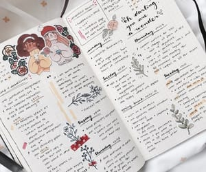aesthetic, bullet journal, and art image