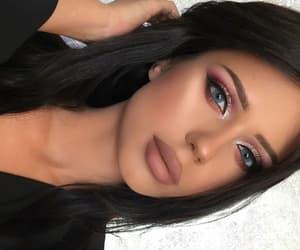 black, fashion, and make-up image
